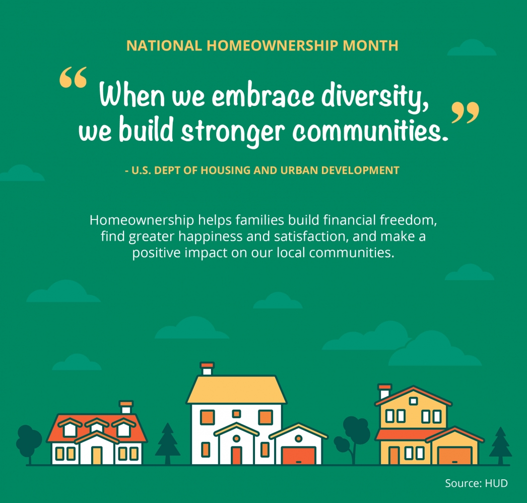 National Homeownership Month [INFOGRAPHIC] | MyKCM